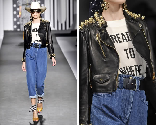Ready to wear Spring Summer 2011 Moschino Milan September 2010